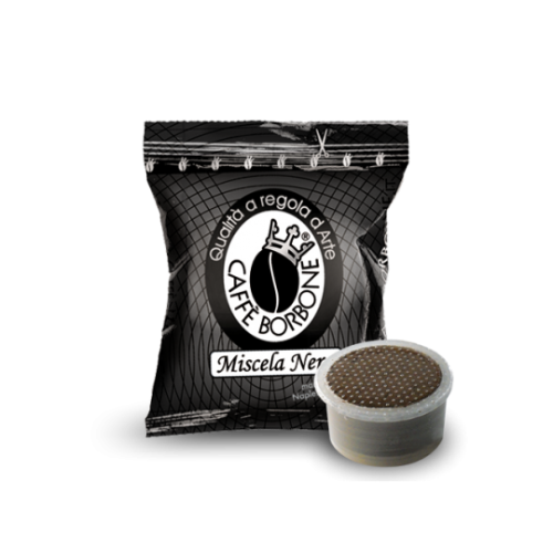100-Capsule-Point-Caffè-Borbone-Nero-