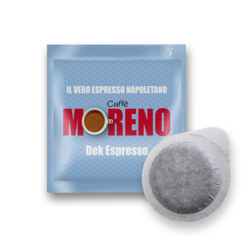 150-coffee-Pods-Ese-44mm-Coffee-Moreno-Dek-Espresso