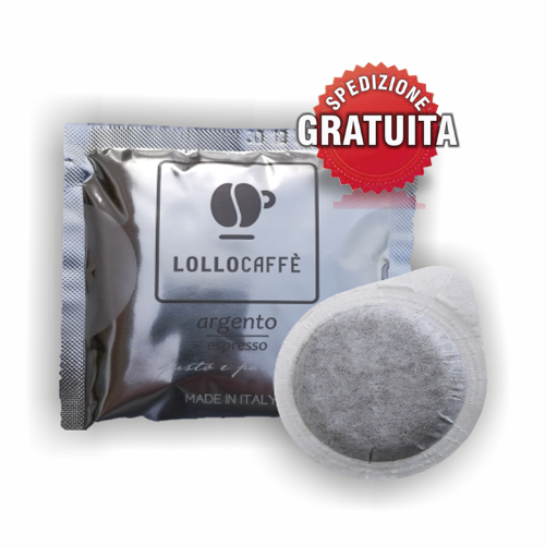 300-Pods-Ese-44mm-Coffee-Lollo-Silver-